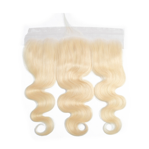 Osolovelybeauty 613 Color Transparent Body Wave 13x4 Lace Frontal Pre Plucked Lace Frontal Closure with Baby Hair Human Hair